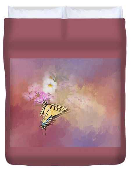 Butterfly Dreams Duvet Cover by Theresa Tahara
