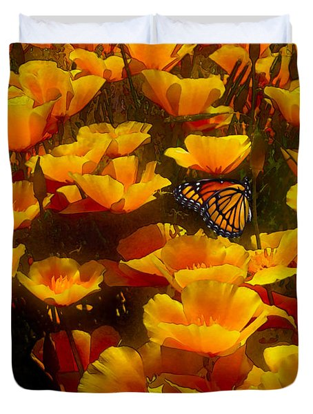 Butterfly Effect Duvet Cover by Robby Donaghey