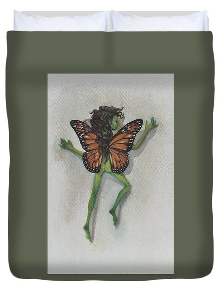 Butterfly Fairy Duvet Cover