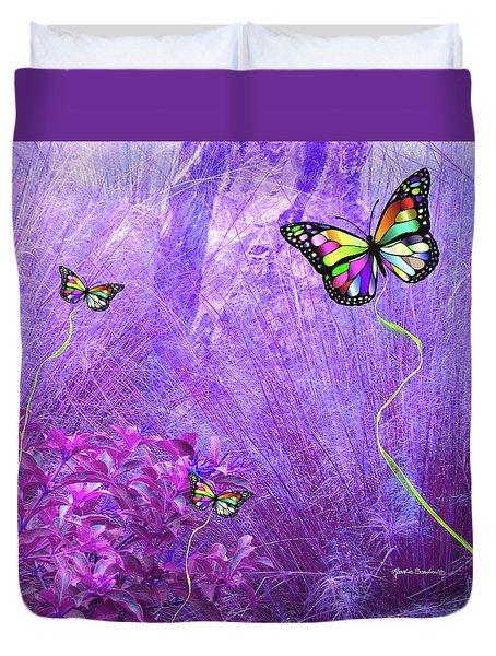 Butterfly Fantasy Duvet Cover