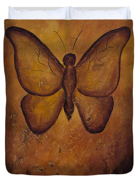 Butterfly Freedom Duvet Cover
