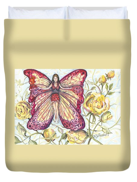 Butterfly Grace Fairy Duvet Cover