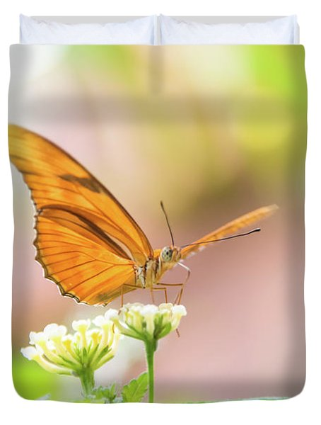 Butterfly - Julie Heliconian Duvet Cover