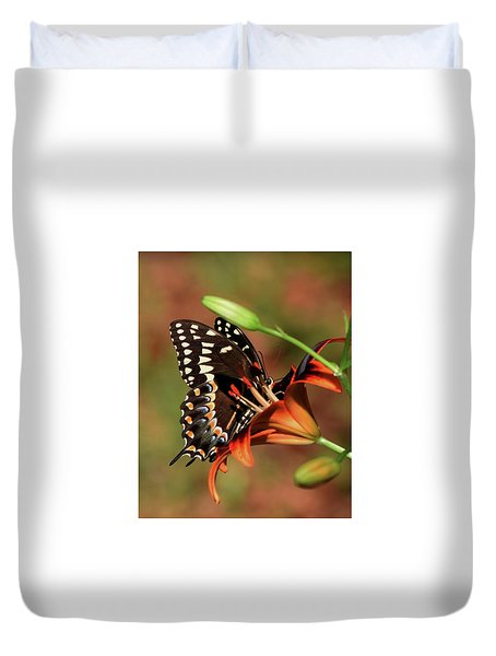 Butterfly Kiss 2 Duvet Cover