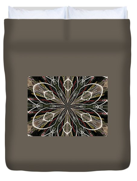 Butterfly Lace Duvet Cover