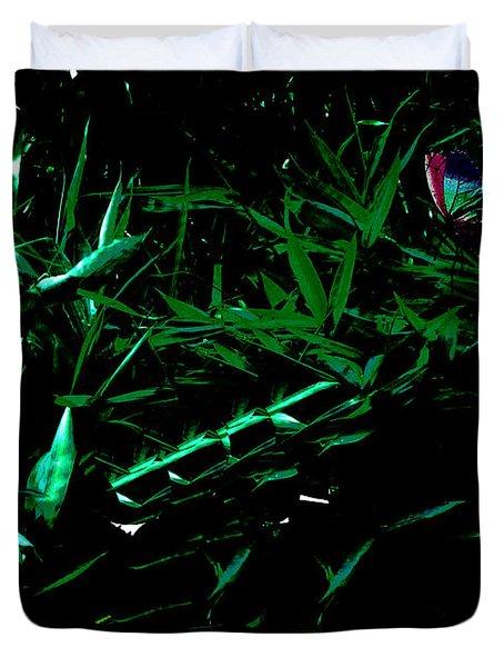 Butterfly Lanscape Duvet Cover