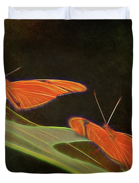 Butterfly Love 1a Duvet Cover