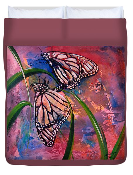 Butterfly Love Duvet Cover