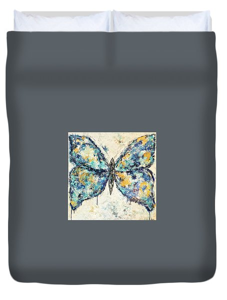 Butterfly Love Duvet Cover by Kirsten Reed