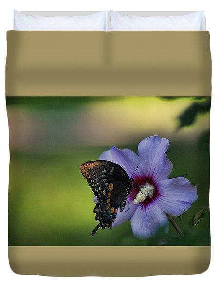 Butterfly Lunch Duvet Cover