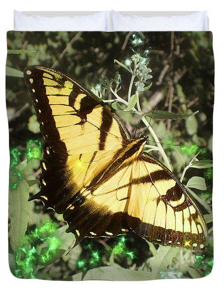 Butterfly Magic Duvet Cover