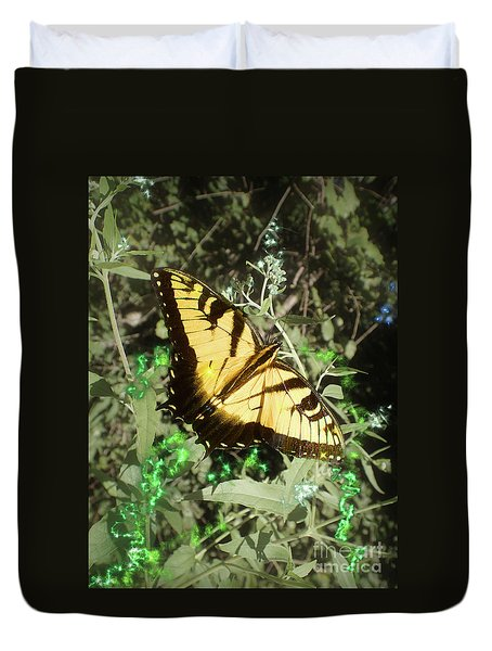 Butterfly Magic Duvet Cover