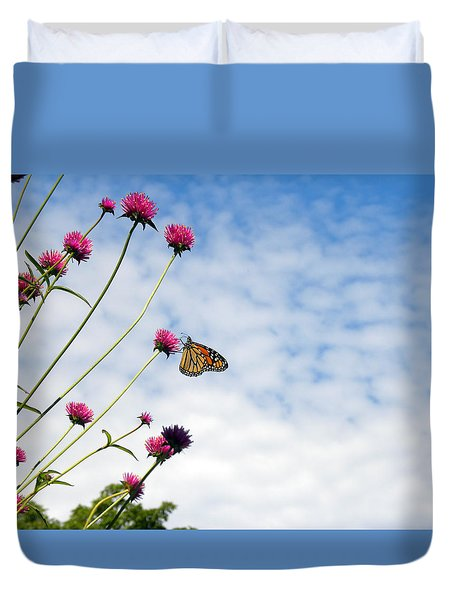 Butterfly Magic Duvet Cover by Teresa Schomig