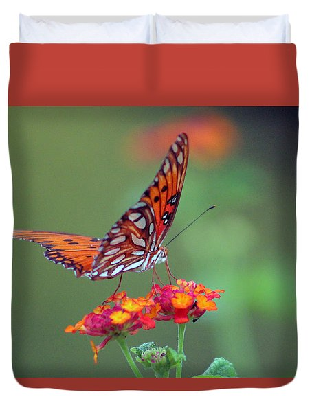 Butterfly Majestic Duvet Cover
