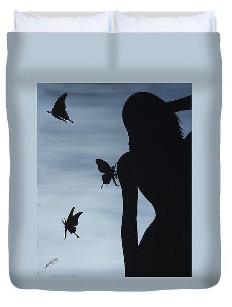 Butterfly Men Duvet Cover