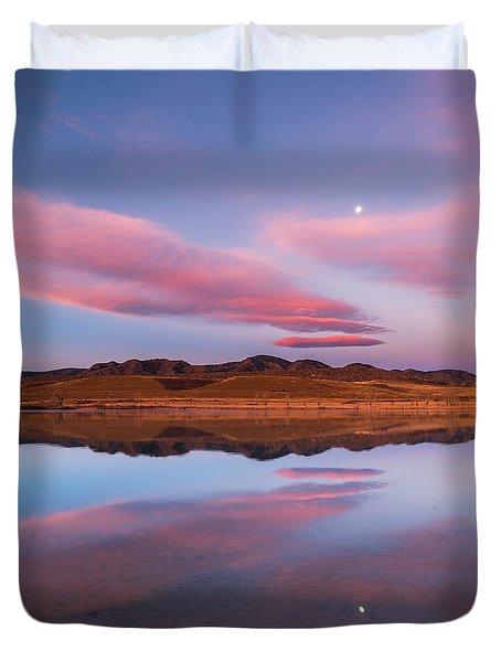 Butterfly Moon Duvet Cover