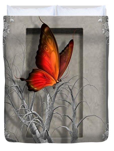 Butterfly Pop Duvet Cover
