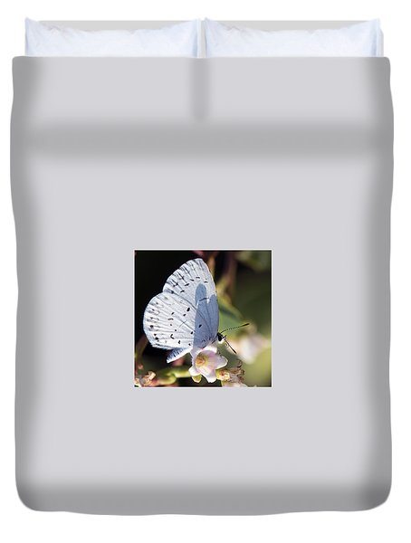 Butterfly Pose Duvet Cover