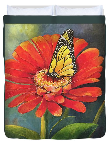 Butterfly Rest Duvet Cover