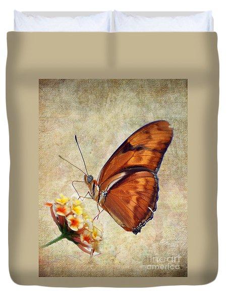 Butterfly Duvet Cover by Savannah Gibbs