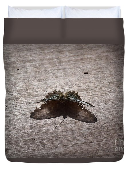 Butterfly See Through Duvet Cover