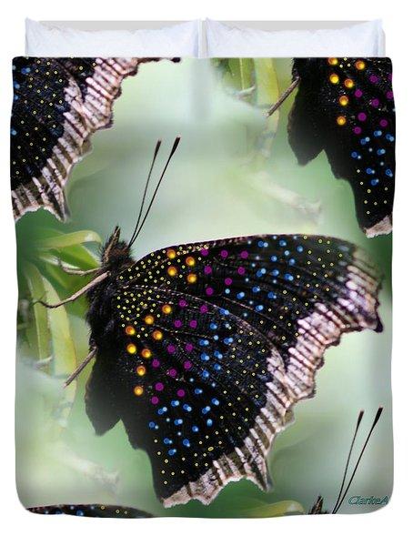 Butterfly Sunbath #2 Duvet Cover