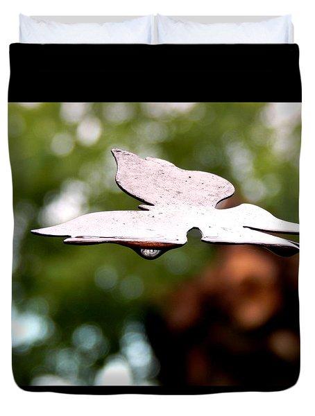 Butterfly Tears Duvet Cover