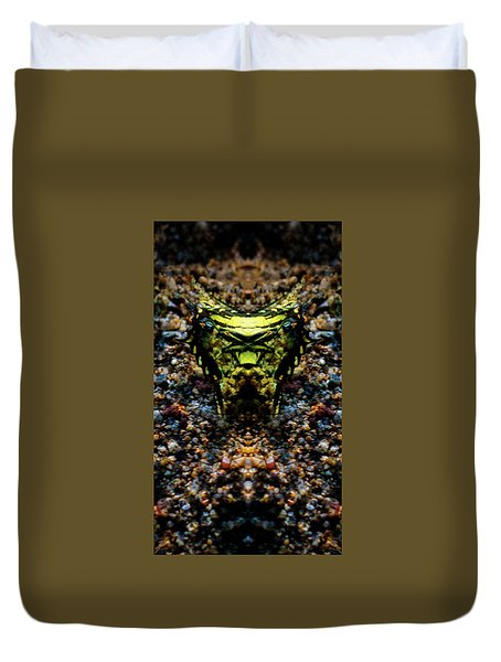 Butterfly Tiger Duvet Cover