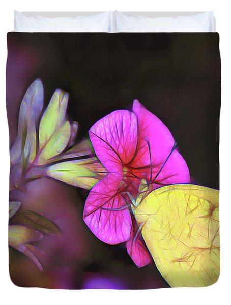 Butterfly Treats Duvet Cover
