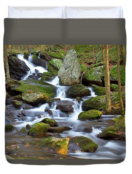 Buttermilk Falls Cascade Duvet Cover