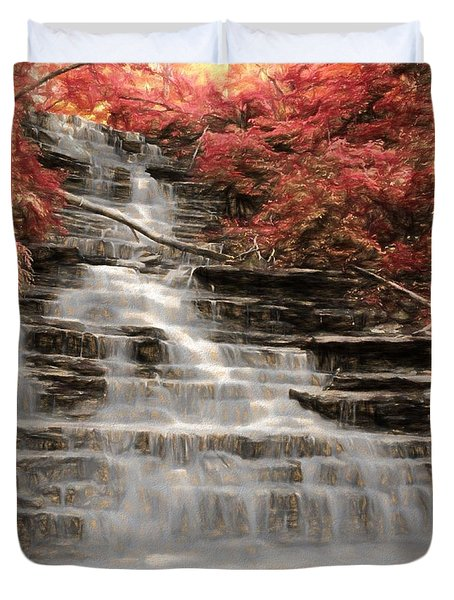 Buttermilk Falls Duvet Cover