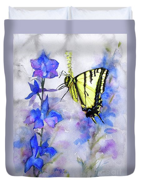 Butteryfly Delight Duvet Cover