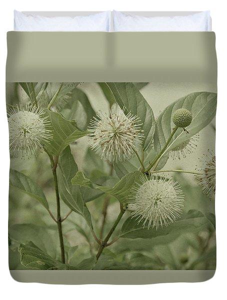 Button Bush Duvet Cover