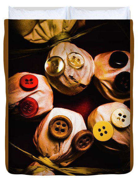 Button Sack Lollypop Monsters Duvet Cover