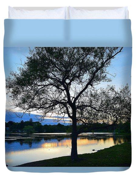 Buttonwood Pond Duvet Cover
