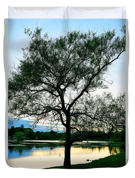 Buttonwood Sunset Duvet Cover
