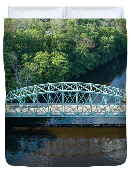 Butts Bridge Summertime Duvet Cover