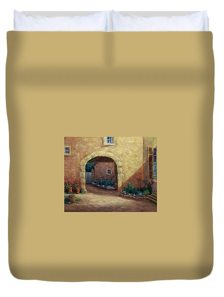 Buxy Archway Duvet Cover by Jill Musser