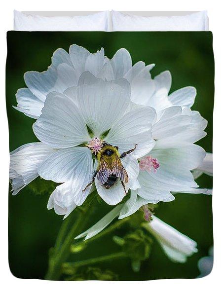 Buzz, Buzz, Buzz Went The  Bumble-bee Duvet Cover