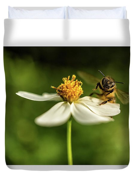 Buzz Off Duvet Cover
