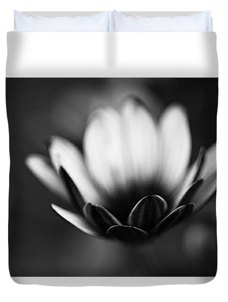 #bw #closeup #petals #someyearsago Duvet Cover