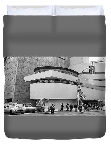 Bw Guggenheim Museum Nyc  Duvet Cover