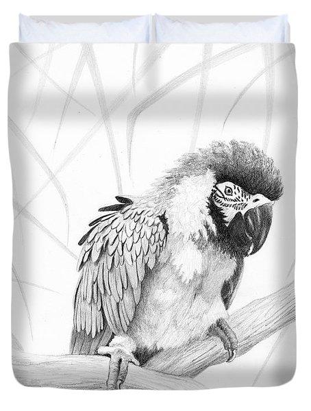 Bw Parrot Duvet Cover
