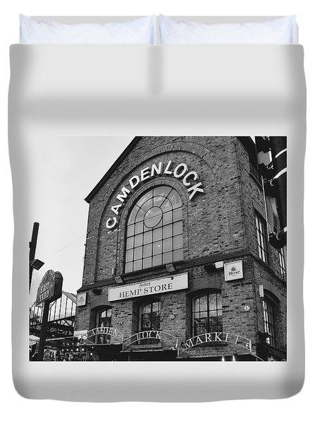 Bw Series Camden Lock Market Duvet Cover