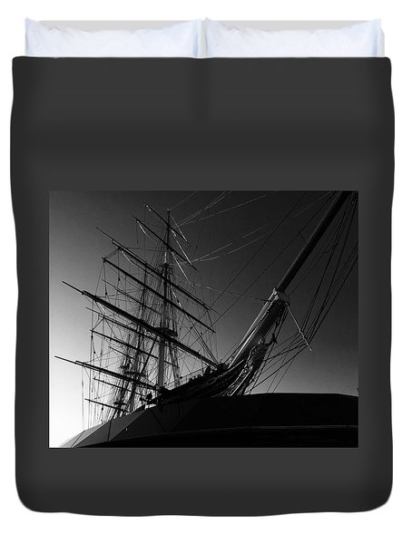 Bw Series Cutty Sark Five Duvet Cover