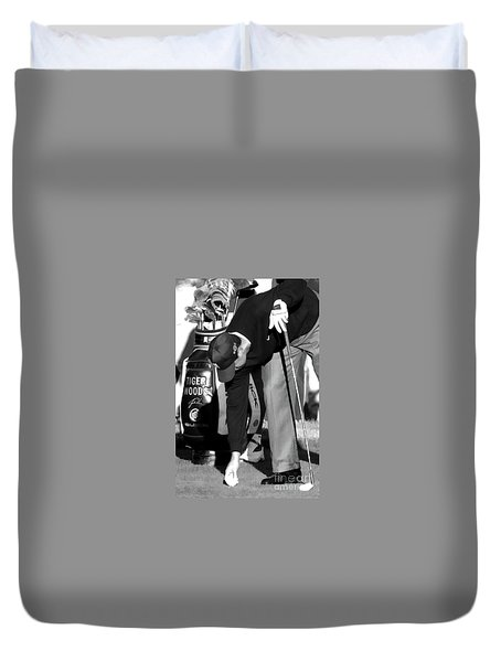 Bw Tiger Woods Tee II Duvet Cover