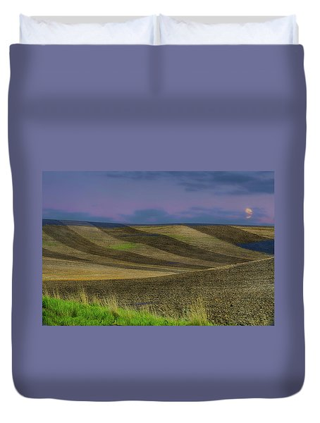 By A Different Light Duvet Cover