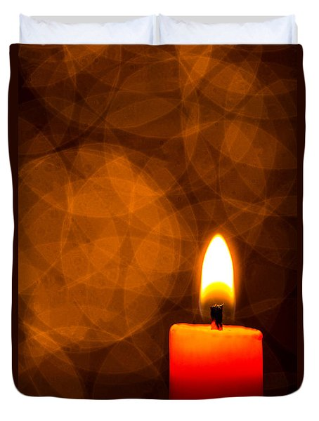 By Candle Light Duvet Cover