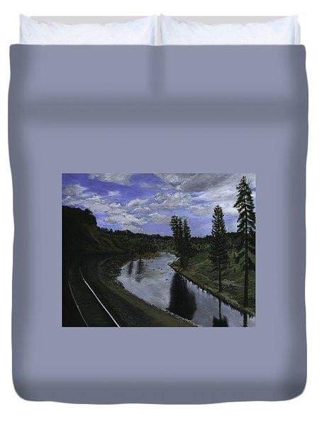 By Rail Duvet Cover