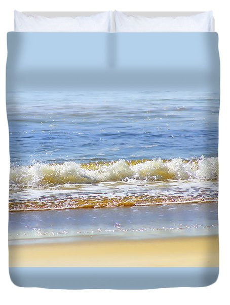 By The Coral Sea Duvet Cover